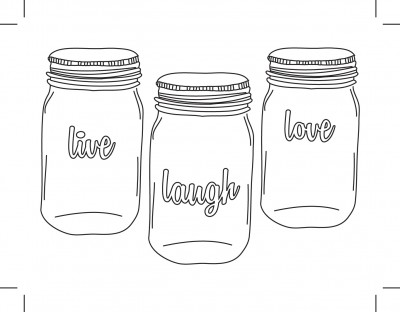 Project Life: Live Laugh Love Glasses