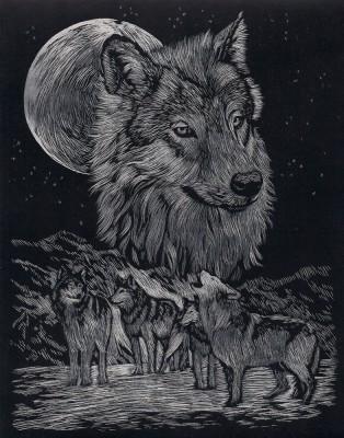 Wölfe, Kratzbild