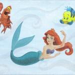 Arielle, die Meerjungfrau, Serviettentechnik