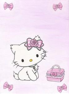 Charmy Kitty, Serviettentechnik
