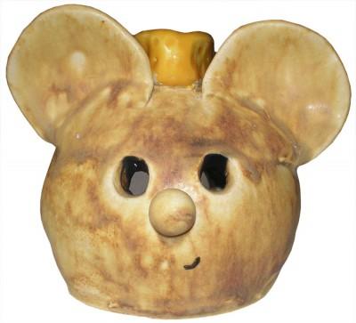 Duftlampe Maus, Töpfern
