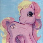 My little pony, Serviettentechnik