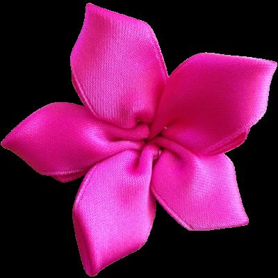 Stoffblume aus Band